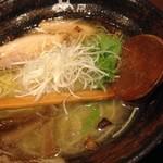 麺屋 あわざ - 海老塩ラーメン