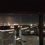44738272 - 窓からの夜景