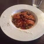 SUZU CAFE - 鶏肉と5種豆のトマトパスタ