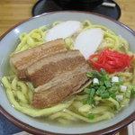 ゆき - 久米島そば(三枚肉)