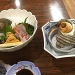 サラサヤ旅館 - 料理写真:旅館で夕食