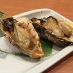 魚民 - カキ〜!
