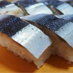 寿々女鮨 - 秋刀魚寿司