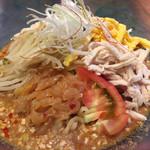 喜多方ラーメン 大安食堂 - 棒棒鶏冷麺