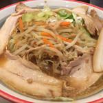 喜多方ラーメン 大安食堂 - 味噌野菜チャーシュー麺