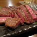 鉄板焼きgrow - 厳選黒毛和牛の2時間焼き(シンタマ)