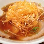 台湾料理 味軒 - ネギチャーシュー麺