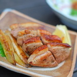 鎌倉 松原庵 - 料理写真:合鴨の炙り これ、美味しい~☆4.3