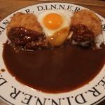 ANAHEIMER KITCHEN - チキンカツかれー丼(皿盛り)