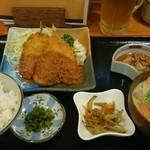 やよい - アジフライ定食♪700円
