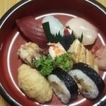 粟寿司 - 料理写真:盛り合わせ