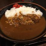 平野台の湯 安庵 お食事処 - カレーライス500円