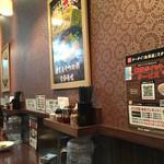 三豊麺 - 店内