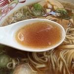 44749984 - 味玉ラーメンのスープ