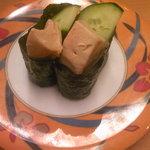 活魚寿司 - フォアグラ 189円