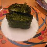 活魚寿司 - 海ぶどう 189円