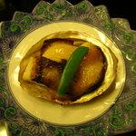 古仙 - 鱸と帆立貝柱の蟹味噌チーズ焼☆