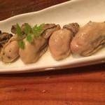 ピタッティ - 牡蠣のオイル漬け480円