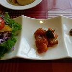 麦の穂 - 料理写真:オードブル2種とサラダ