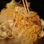 鶴橋風月 - 海鮮塩バター焼きそば 1,317円(税込)
