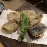 魚菜料理 二代目 みつい - 牡蠣てんぷら