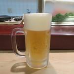 正寿司 - 生ビール