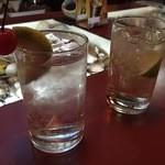 洋酒喫茶ロダン - ドリンク写真:ジントニック&ジンライム