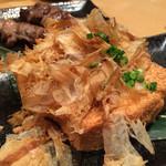 個室居酒屋 とくいちの屋 - 厚揚げ豆腐