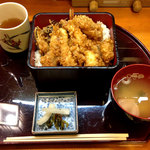 Tenzan - 上天丼1100円