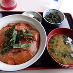 44755059 - 中トロ漬丼 (1300円)