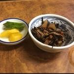 南風 - ひじき煮、新香
