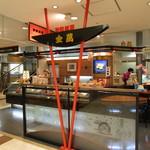 金萬 - トピコ2階の改札脇です