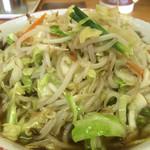 竜園 - 醤油野菜ラーメン
