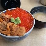 北海番屋 - 味噌汁付