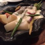 44756732 - お野菜のラクレットチーズがけ