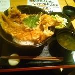 奥美濃古地鶏 ZENNO - 穴子天丼