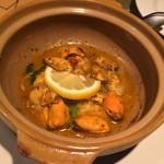 ガラムマサラ - 土鍋ムール貝