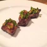ガラムマサラ - パクチー和牛ステーキ