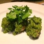 ガラムマサラ - パクチー牡蠣
