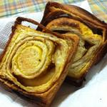 44760389 - カボチャとメープルの食パン 1/2斤 3枚切