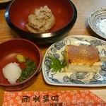 44761237 - そばねり&豆腐田楽