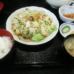 44761285 - 野菜炒め定食