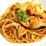 ランチ&バー 花菜 - 【冬限定】鱈とキノコのトマトソース