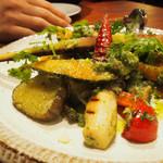 44763684 - 旬野菜のグリル