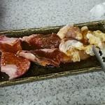 44763965 - 肉→バラとハラミとチキンとテッチャン