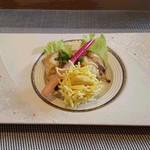 和食 梅心 - ふぐの照り焼きと小芋の揚げ物