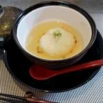 和食 梅心 - もち米の餡かけ