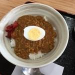 道の駅おおさと 大郷ふるさとプラザ - キーマカレー丼