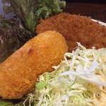 小塙 - 151124 ミックスコロッケ定食