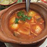 アムリタ食堂 - H27.11.22 「トムヤムクン」 (海老のすっぱい辛いスープ) L